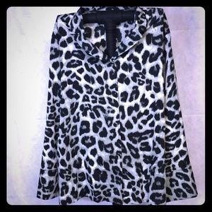 Women's Leopard Blouse